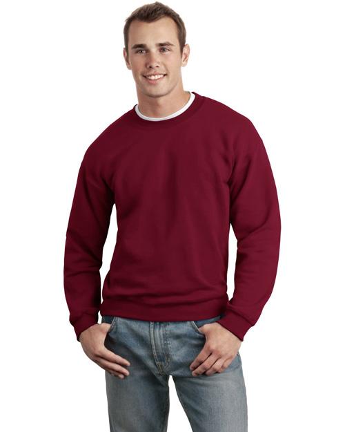 Gildan 12000 Men Ultra Blend Crewneck Sweatshirt Cardinal Red at bigntallapparel