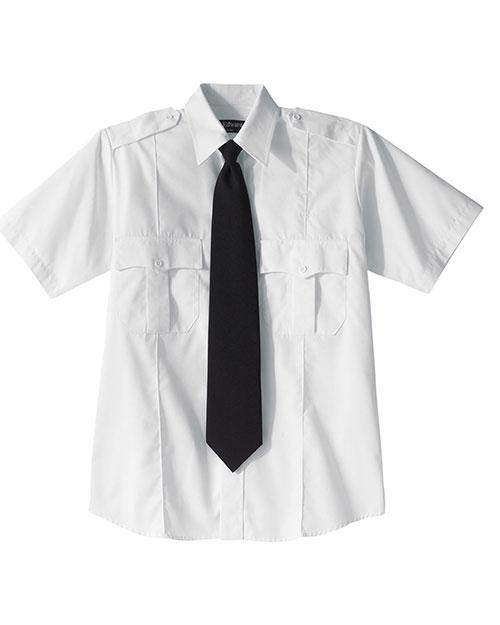 Edwards 1226 Women Security Short Sleeve Shirt White at bigntallapparel