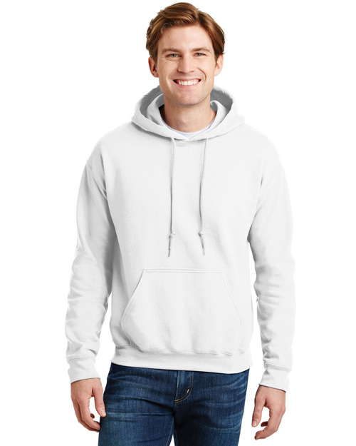 Gildan 12500 Men Ultra Blend Pullover Hooded Sweatshirt White at bigntallapparel