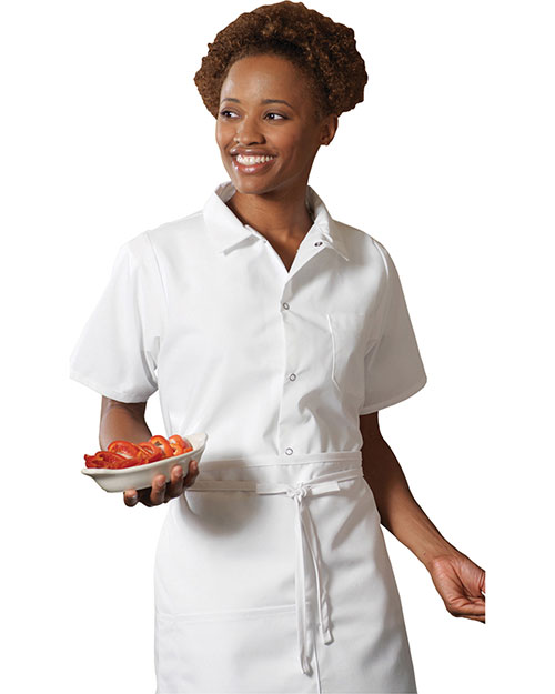 Edwards 1302 Men  Cook Shirt White at bigntallapparel