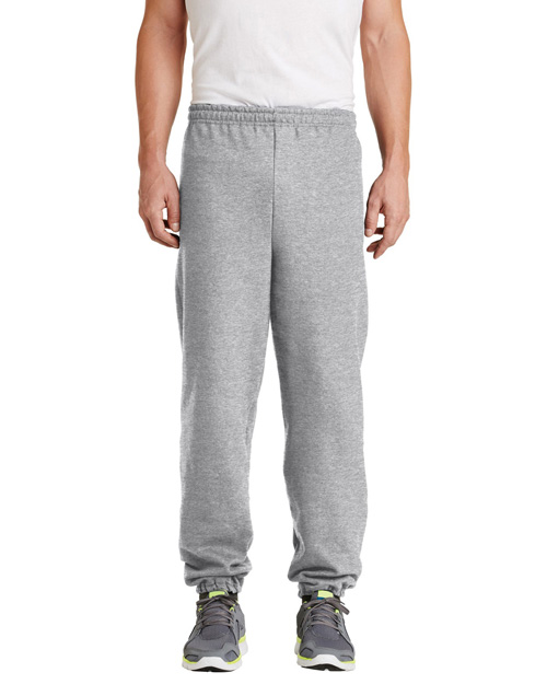 Gildan 18200 Men Heavy Blend Sweatpant Ash at bigntallapparel