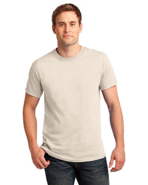 Gildan 2000 Men Ultra Cotton    100%  Tshirt Natural at bigntallapparel