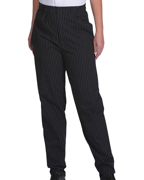 Edwards 2002 Unisex Ultimate Baggy Chef Pant Black Stripe at bigntallapparel