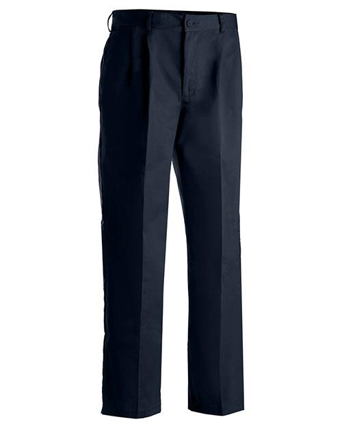 Edwards 2677 Men Utility Pleated Pant Navy at bigntallapparel