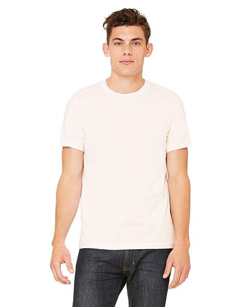 Canvas 3020 Men 4.2 Oz. Doheny Organic T-Shirt Natural at bigntallapparel