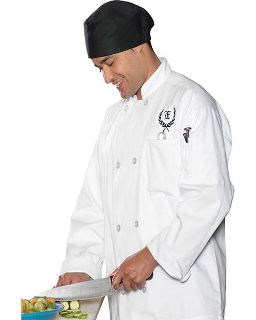 Edwards 3300 Men Chef Coat White at bigntallapparel