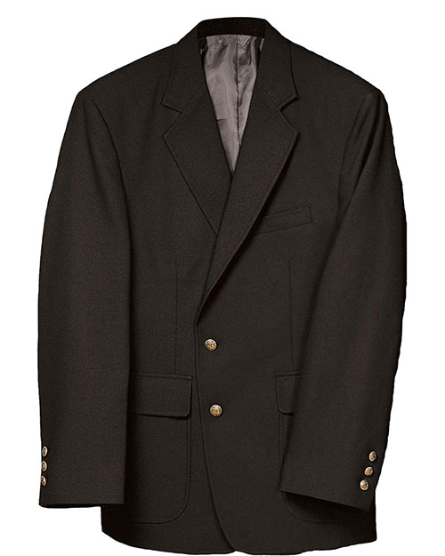 Edwards 3500 Men Value Poly Blazer Black at bigntallapparel
