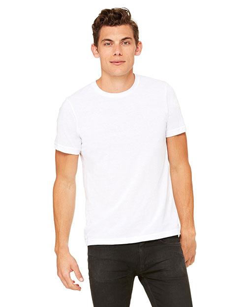 Canvas 3650 Men 3.6 Oz. Poly-Cotton T-Shirt White at bigntallapparel