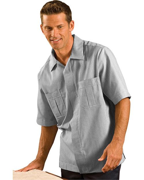 Edwards 4275 Women Cord Service Shirt Dark Grey at bigntallapparel