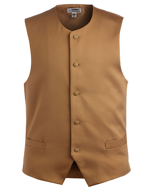 Edwards 4392 Men Bistro Vest Gold at bigntallapparel