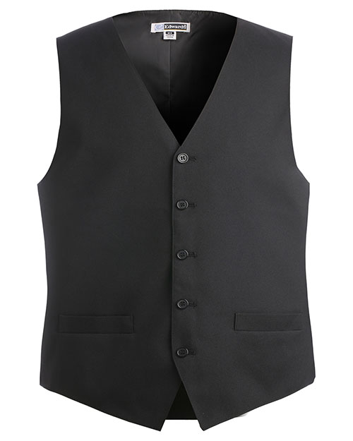 Edwards 4490 Men Economy Vest Black at bigntallapparel