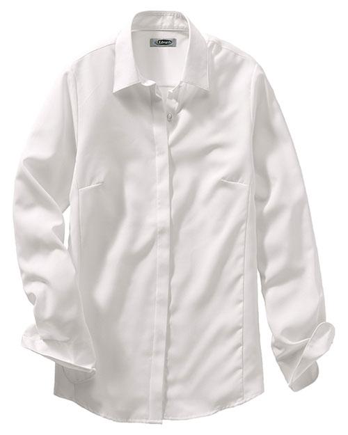 Edwards 5291 Women Batiste Fly Shirt Cream at bigntallapparel