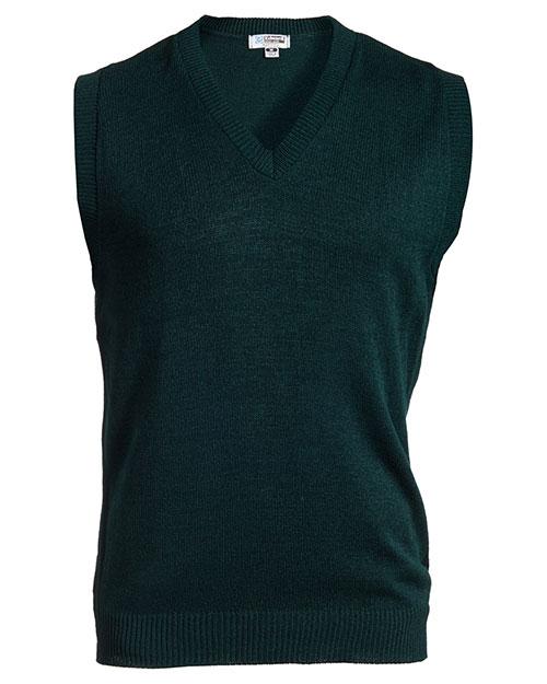 Edwards 561 Women  V-Neck Jersey Vest With Tuff-Pil Plus Forest at bigntallapparel