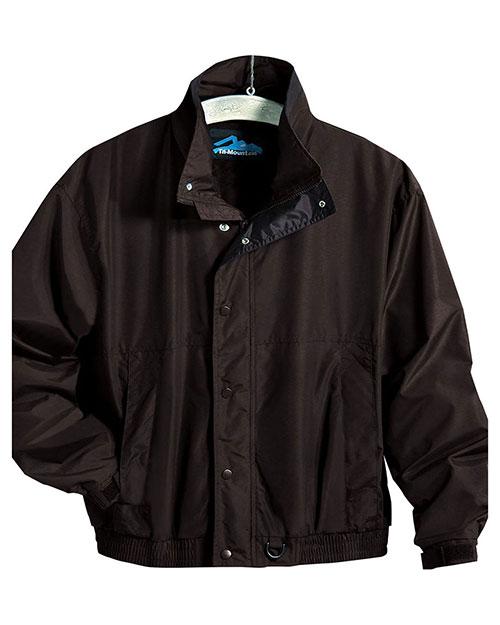 Tri-Mountain 6800 Men Big And Tall   Nylon Jacket With  Lining Black at bigntallapparel
