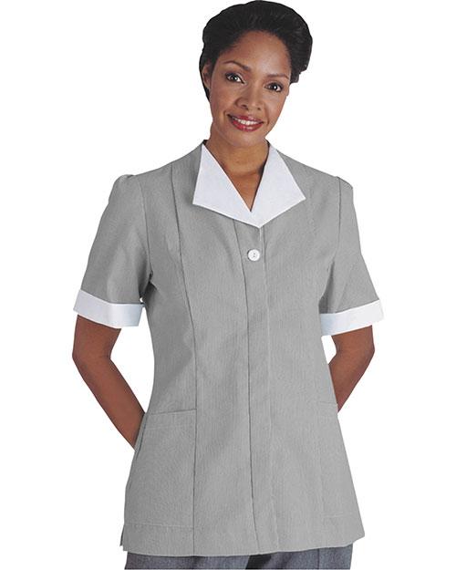 Edwards 7275 Women Cord Tunic Dark Grey at bigntallapparel