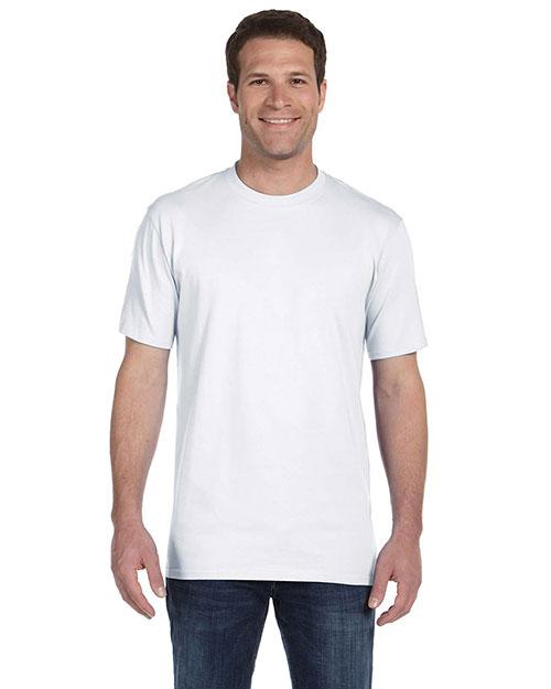 Anvil 780 Men Ringspun Midweight T-Shirt White at bigntallapparel