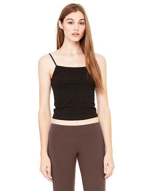 Bella 810 Women Cotton/Spandex Fitness Pant Chocolate at bigntallapparel