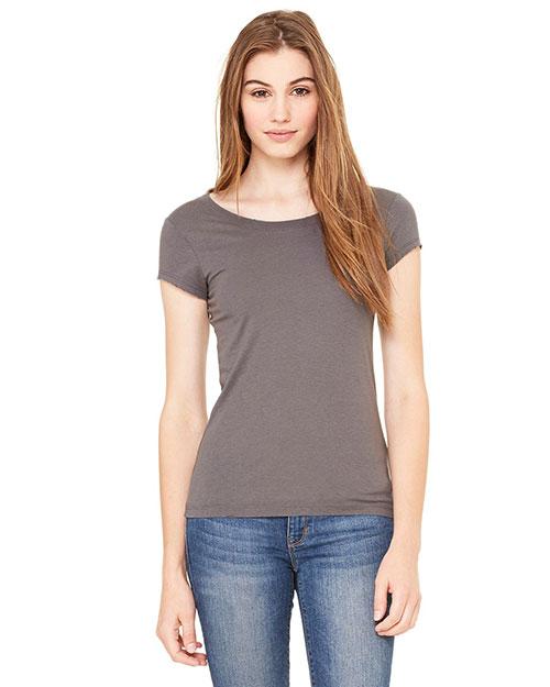 Bella 8402 Women Vintage Jersey Short-Sleeve T-Shirt Asphalt at bigntallapparel