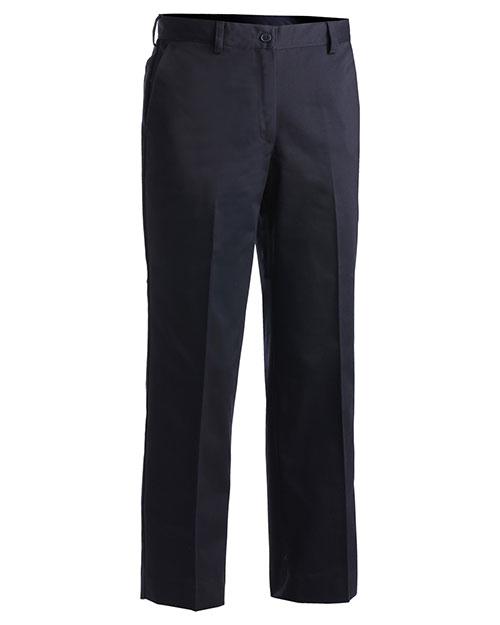 Edwards 8567 Women Utility Flat Front Pant Navy at bigntallapparel