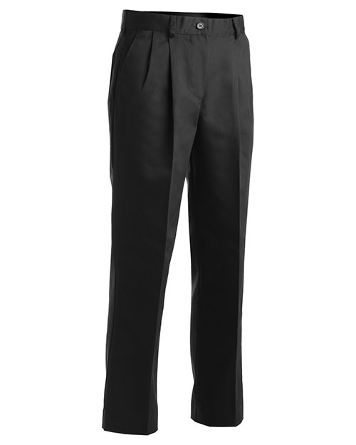 Edwards 8667 Women Utility Pleated Pant Black at bigntallapparel