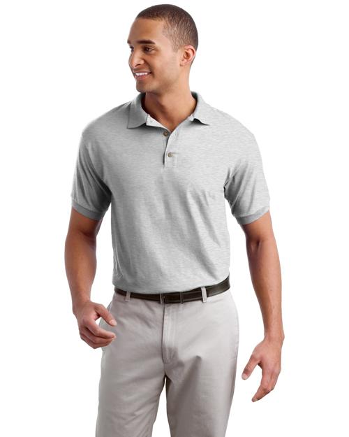Gildan 8800 Men Ultra Blend    5.6ounce Jersey Knit Sport Shirt Ash at bigntallapparel
