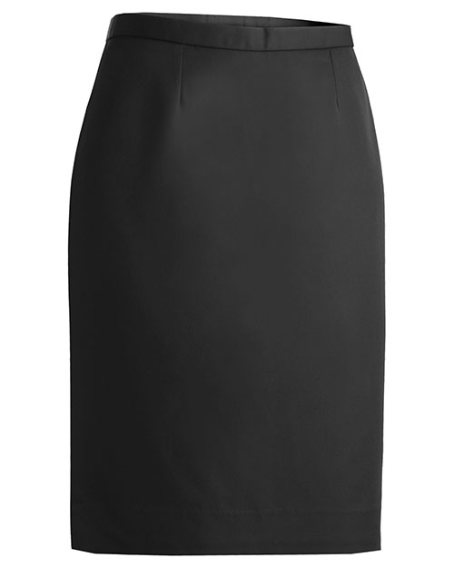 Edwards 9792 Women Microfiber Skirt Black at bigntallapparel