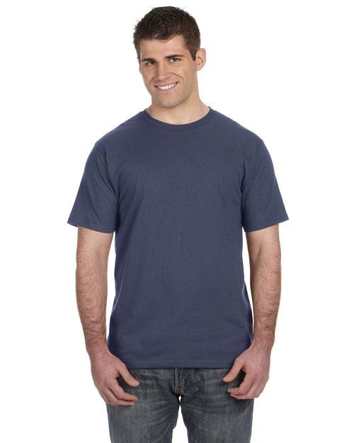 Anvil 980 Men  4.5 Oz. Ringspun Cotton Fashion Fit T-Shirt Lake at bigntallapparel