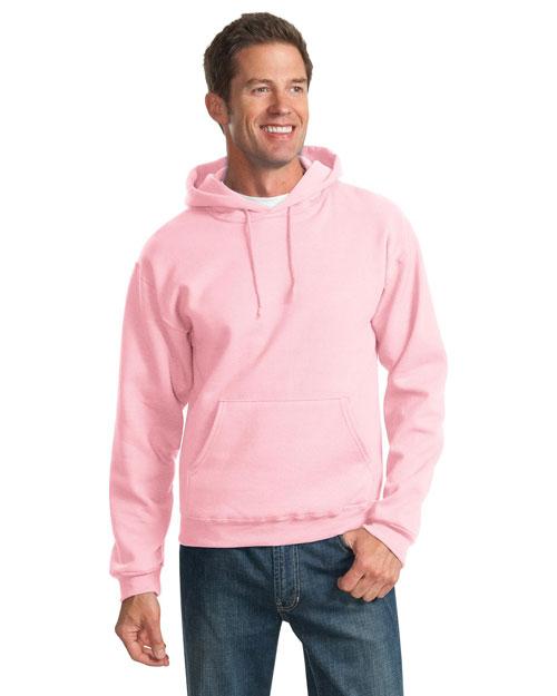 Jerzees 996M Men  8ounce Pullover Hooded Sweatshirt Classic Pink at bigntallapparel