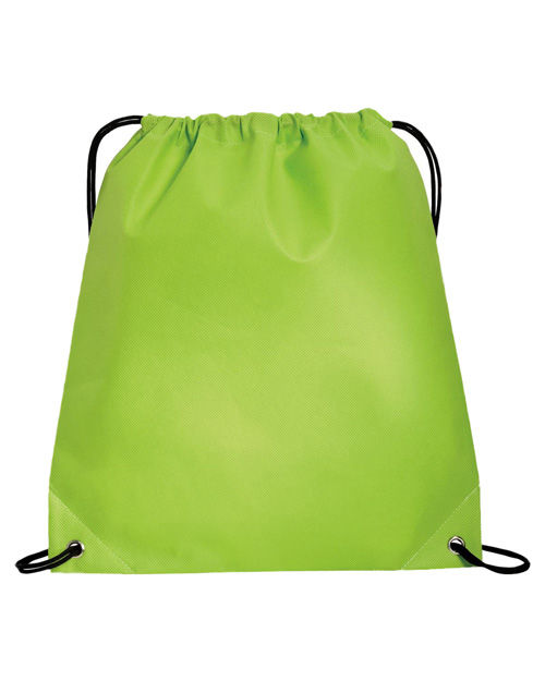 Port & Company B157  Polypropylene Cinch Pack Lime at bigntallapparel