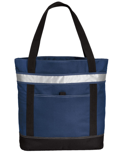 Port Authority BG118  Tote Cooler Navy at bigntallapparel
