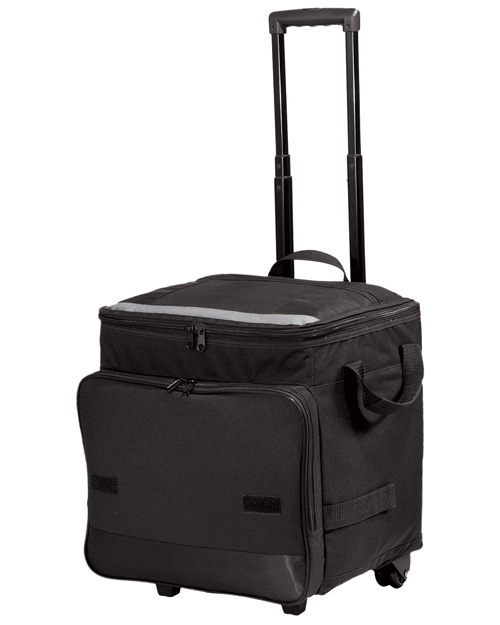 Port Authority BG119  Rolling Cooler Black at bigntallapparel