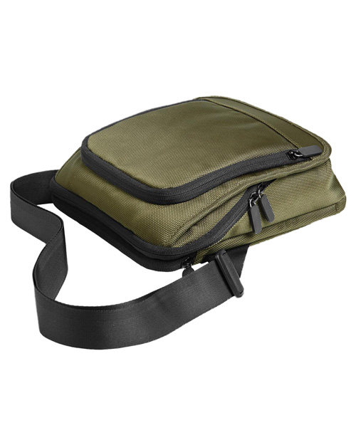 Port Authority BG750  Mini City Messenger Olive at bigntallapparel