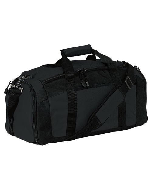 Port & Company BG970  Gym Bag Black at bigntallapparel