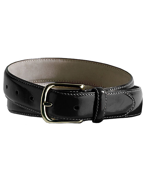 Edwards BP00 Unisex Smooth Dress Belt Black at bigntallapparel