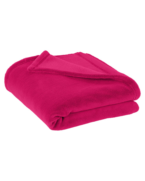 Port Authority BP30  Plush Blanket Charity Pink at bigntallapparel