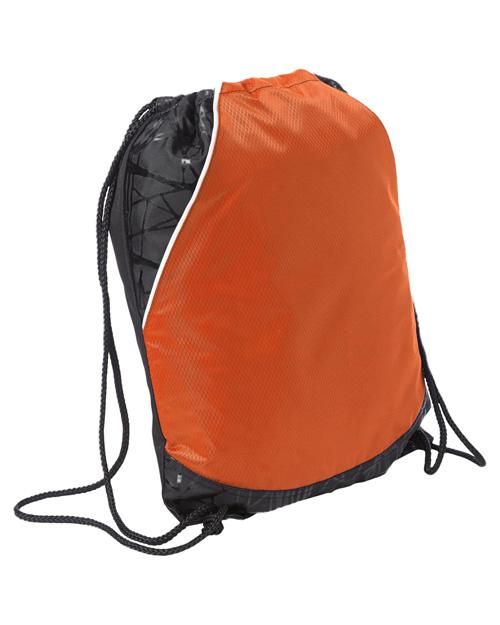 Sport-Tek BST600  Rival Cinch Pack Deep Orange at bigntallapparel