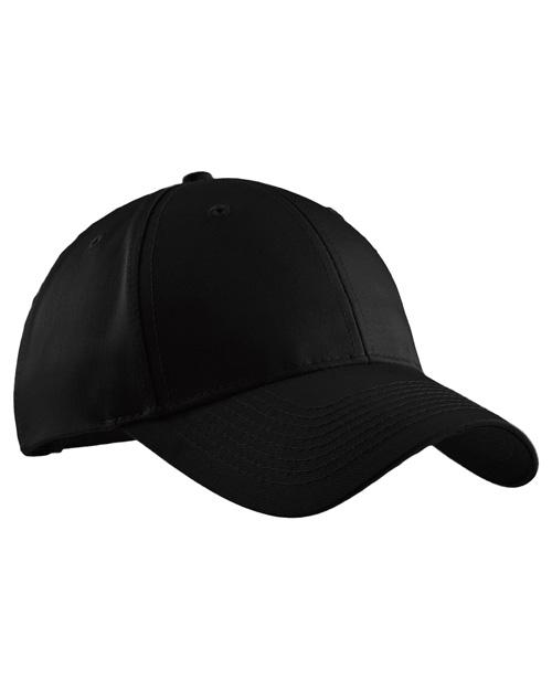 Port Authority C608  Easy Care Cap Black at bigntallapparel