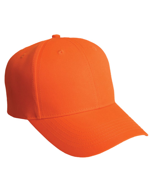 Port Authority C806 Men Solid Safety Cap Safety Orange at bigntallapparel