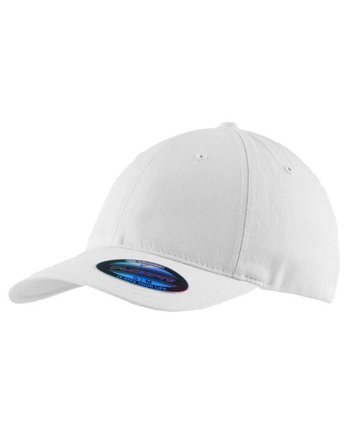 Port Authority C809  Flexfitgarment Washed Cap White at bigntallapparel