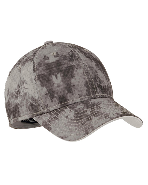 Port Authority C814  Game Day Camouflage Cap Grey at bigntallapparel
