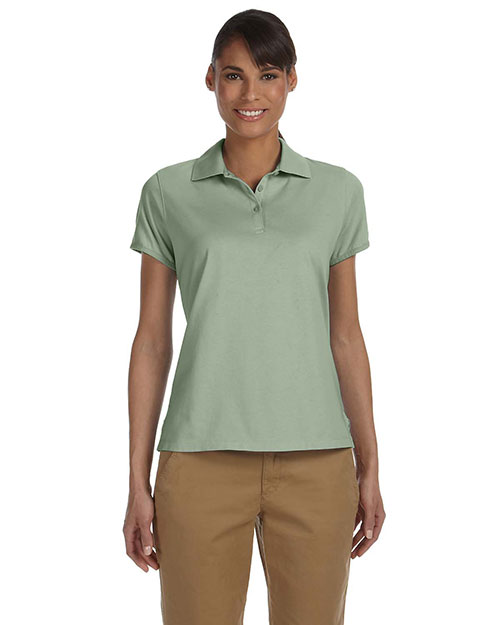 Chestnut Hill CH180W Women Performance Plus Jersey Polo Cactus at bigntallapparel