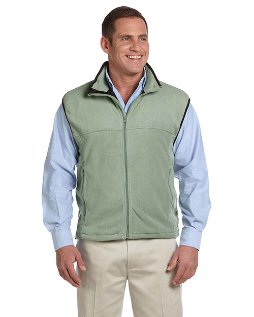 Chestnut Hill CH905 Men Microfleece Vest Cactus at bigntallapparel