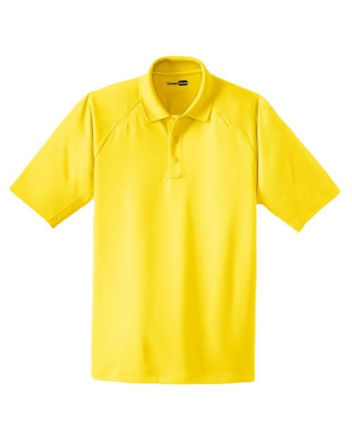 Cornerstone TLCS410 Men Tall Select Snagproof Tactical Polo Yellow at bigntallapparel