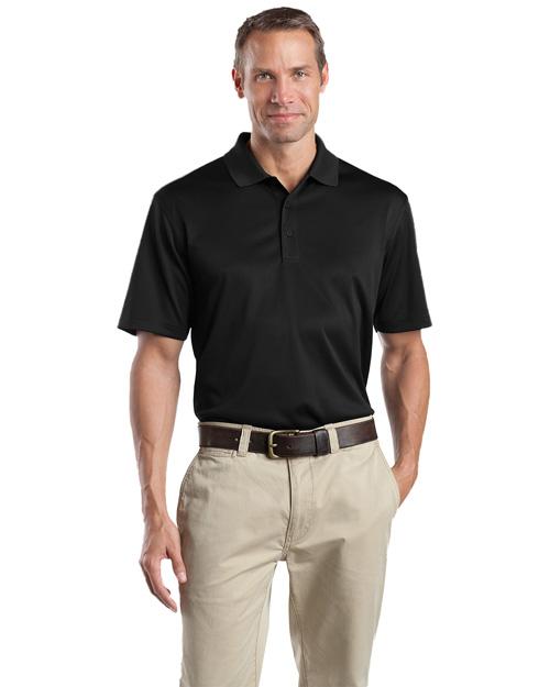 Cornerstone CS412 Men Select Snag-Proof Polo Black at bigntallapparel