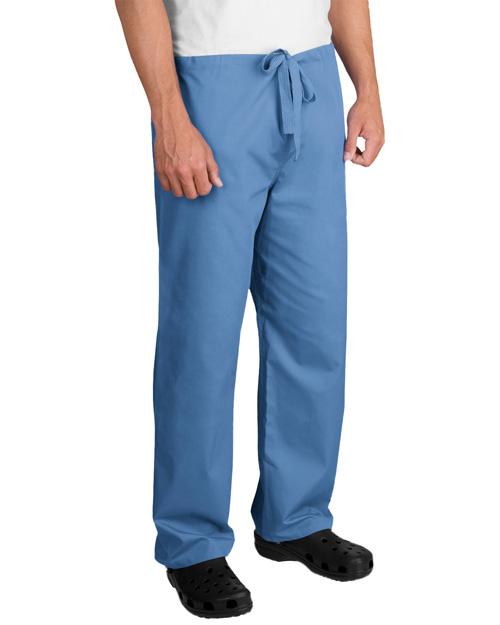 Cornerstone CS502 Men Reversible Scrub Pant Ceil Blue at bigntallapparel