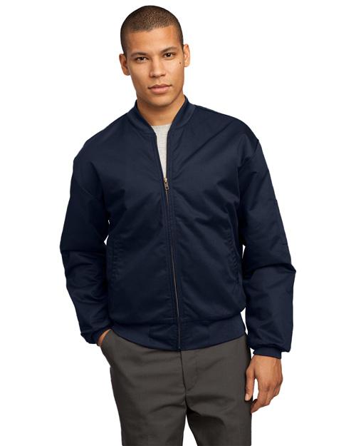 Cornerstone CSJT38 Men Team Style Jacket With Slash Pockets Navy at bigntallapparel