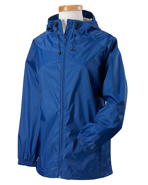 Devon & Jones D756W Women Waterproof Tech-Shell Torrent Jacket Cobalt at bigntallapparel