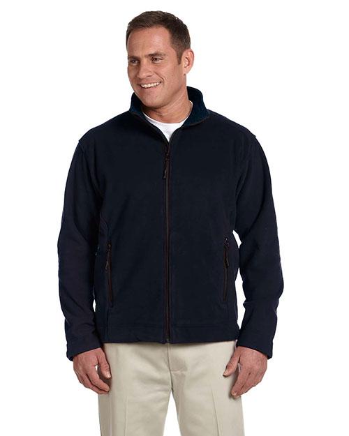 Devon & Jones D765 Men Advantage Soft Shell Jacket Black at bigntallapparel