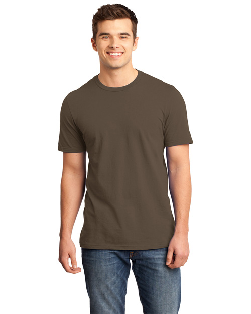 District Threads DT6000 Men Very Important Tee Brown at bigntallapparel