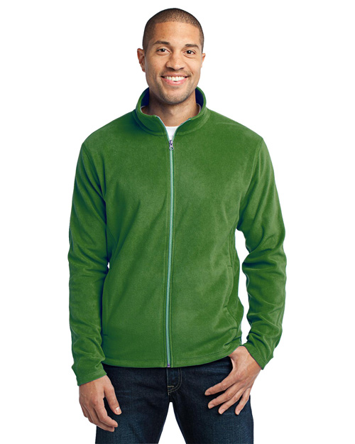 Port Authority F223 Men Microfleece Jacket Chive Green at bigntallapparel